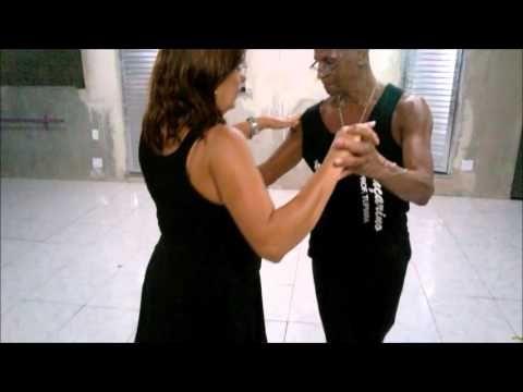 Espaço Dança de Salão - Aula de Bolero - YouTube