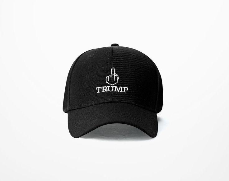 Fuck Donald Trump Baseball Cap - Baseball Cap