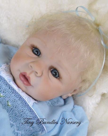 Kyra by Eva Helland reborn by Tiny Bundles Nursery