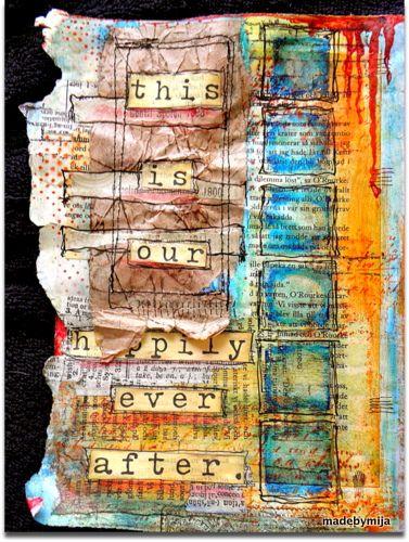 Made byMija : Art Journaling