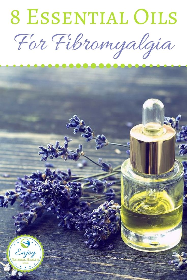 Stop the pain from fibromyalgia with these 8 essential oils.