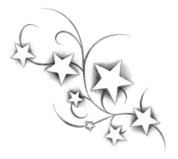 Les 25 meilleures id es de la cat gorie tatouages d 39 toile au poignet sur pinterest tatouages - Signification etoile tatouage ...
