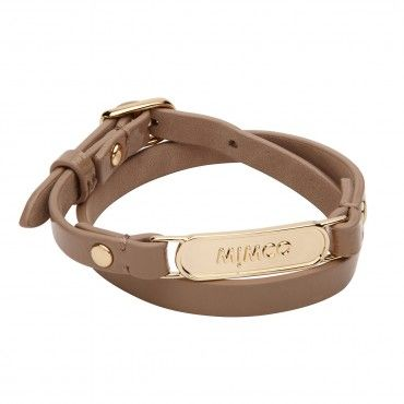 Buckle up leather bracelet                                                                           - Mimco