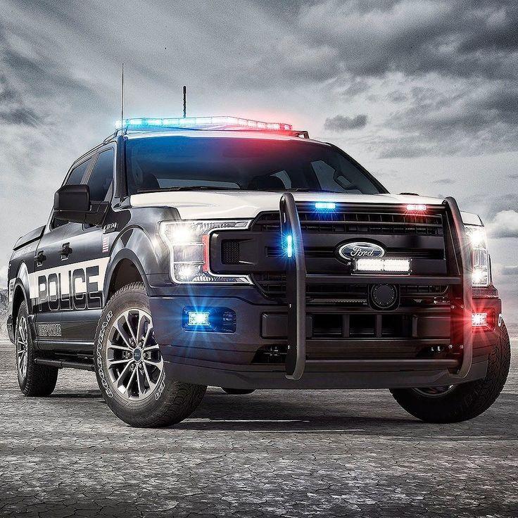 Ford F-150 Police Responder 2018 Marca apresentou a primeira picape certificada para perseguição policial nos Estados Unidos. A F-150 Police Responder conta com motor EcoBoost de 35 litros que entrega mais potência e torque que qualquer outro carro de polícia - 375 cv e 65 kgfm respectivamente  e pode chegar a 160 km/h de velocidade máxima. Com tração nas quatro rodas para uso em todo o tipo de terreno é equipada com a transmissão Ford SelectShift de dez velocidades.  A F-150 Police…
