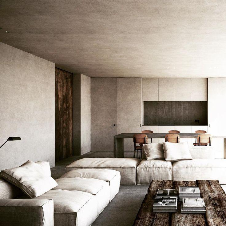 Naturally Minimalist Living Room Logoarchive Home Room Design House Interior Home Decor