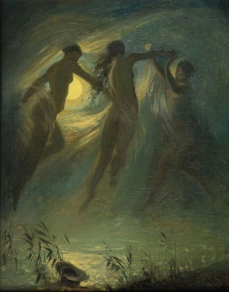 Josef Mánes (1820-1871) - The Drowned