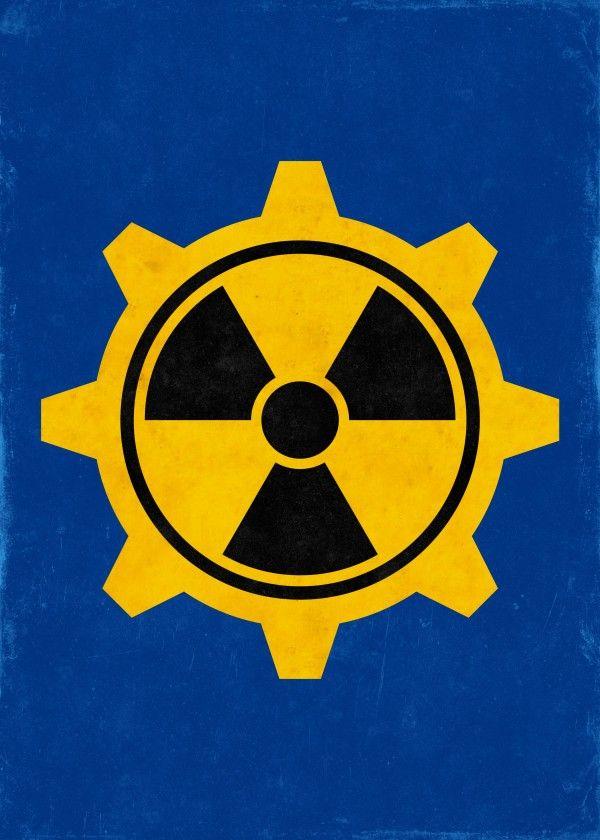 Radiation Warning by Remus Brailoiu | Displate | https://displate.com/displate/271463 | fallout, vault 101, fallout shelter, door, radiation symbol, vault dweller, sign, cog wheel | #fallout #vault101 #101 #vaultboy #vaultdweller #radiation #atomic #rad #nuke #nuclear #falloutshelter