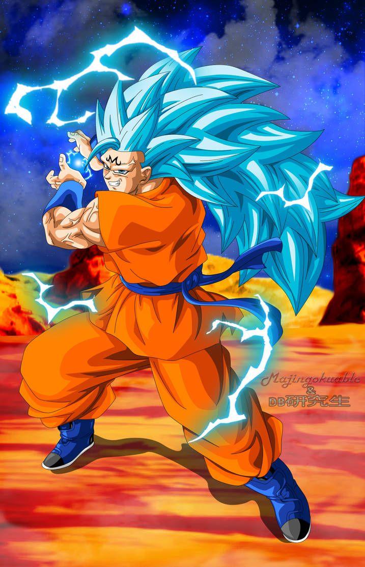 Majin Goku Ssgss3 By Majingokuable Anime Dragon Ball Super Dragon Ball Super Goku Dragon Ball Super