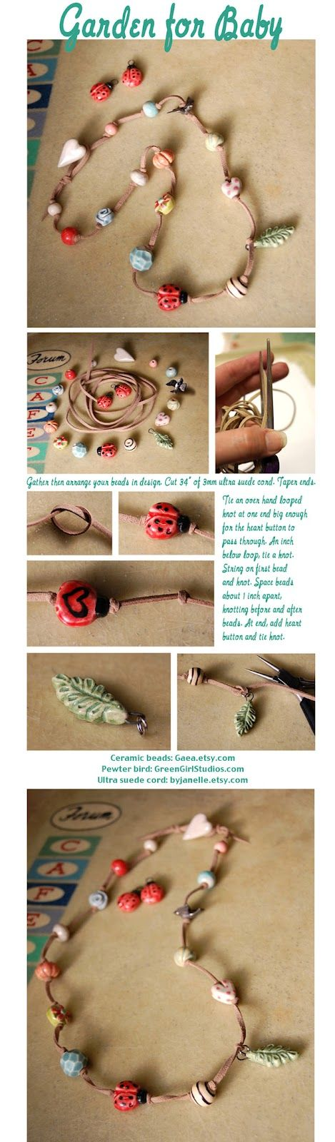 Art Bead Scene Blog: Studio Saturday with Gaea Cannaday- tied cords and beads