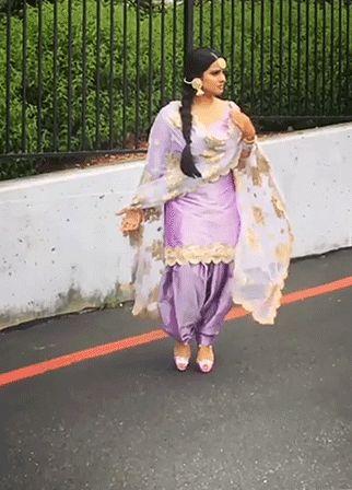 Punjabi salwar suit (large-animated-gif!!!)