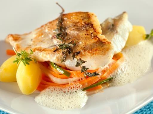 Recette de Julienne de légumes et poisson blanc
