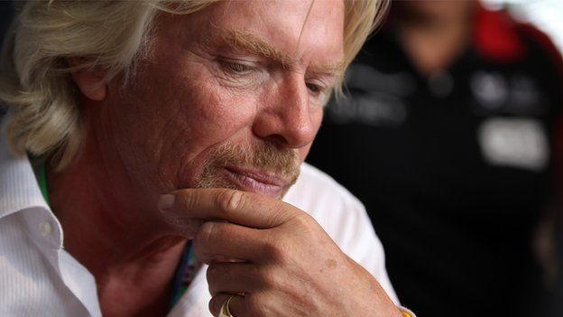 """Richard Branson has a life tip for us all: """"You only live one life, so I would do the thing that you are going to enjoy."""""""