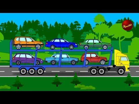 Машинки. Пожарная машина. Машины для детей. Мультики про машинки. - YouTube