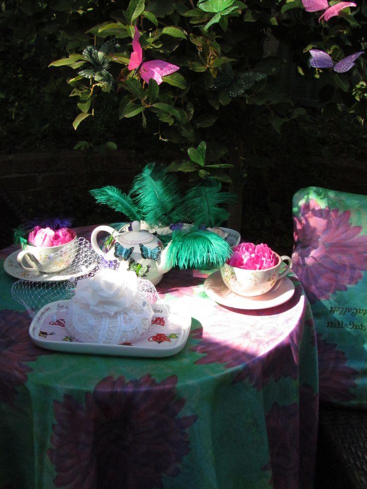Girl Power,Styling, image, fabric design Peta Collett Copyright  2014...And Flourish