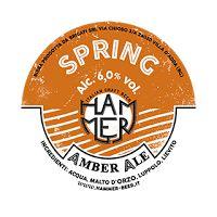 BirrainBo 2015: Le birre di IL PUNTO - Birra Hammer - Spring Amber Ale - 6,00% alc.- Birra in stile Amber Ale, dal color rosso rubino, è prodotta con una miscela di 5 malti differenti, che donano note maltate intense e fruttate. La luppolatura delicata prevede l'utilizzo dei luppoli tedeschi, inglesi e americani (Kent Golding, Saphir, Sterling) che conferiscono alla birra un piacevole aroma floreale.