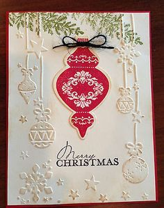 darice ornament embossing folder - Google Search