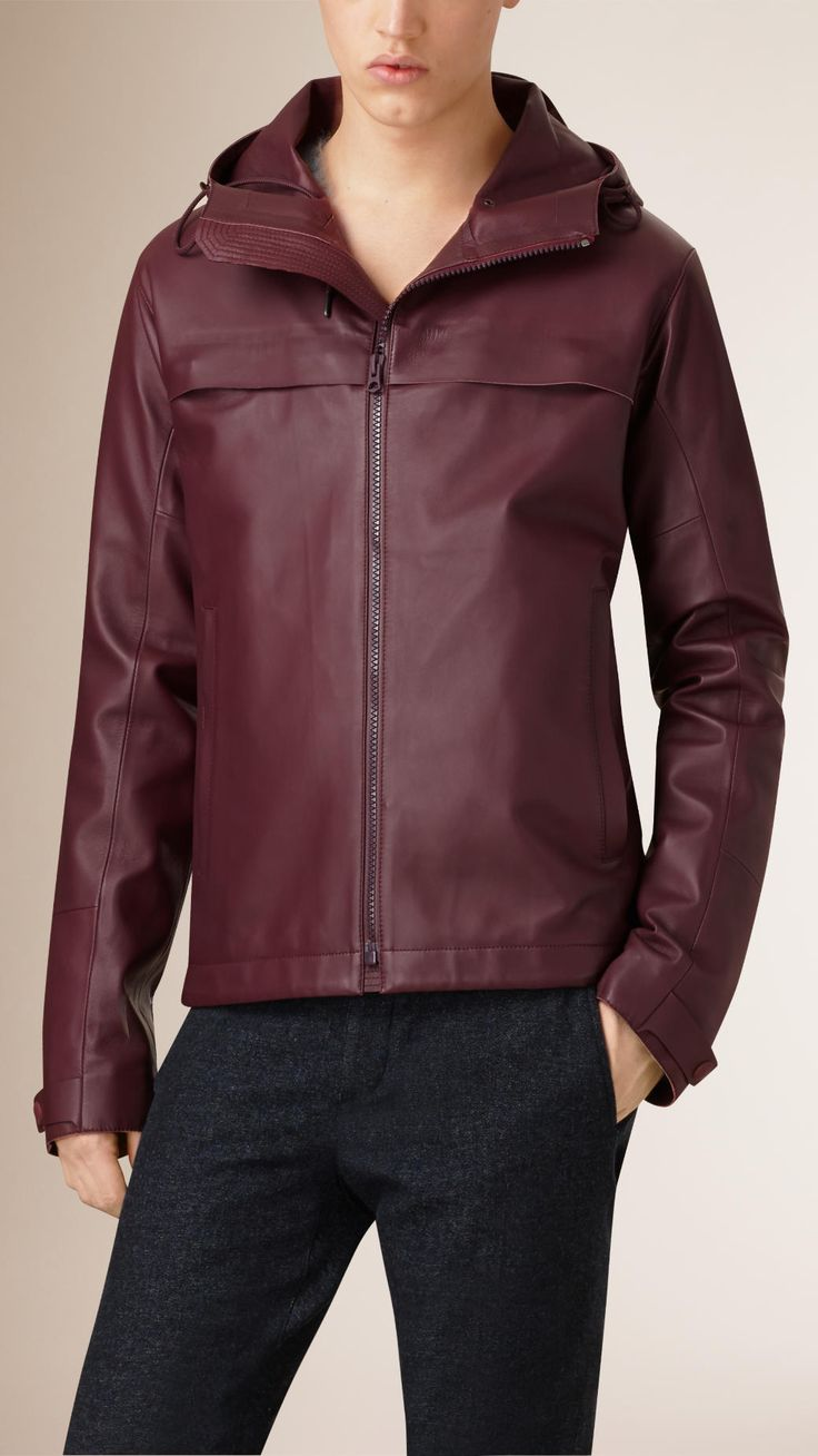 Burberry leather