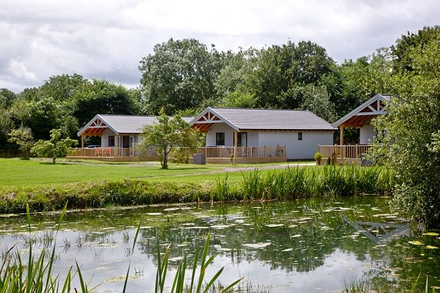 Redlake Farm Holiday Lodge in Somerset. Redlake Farm is the perfect setting for a relaxing fishing holiday or weekend getaway situated in the heart of the Somerset Countryside.