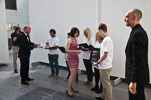 Foto af vindergruppen fra BETACAMP 2012 - se flere fotos på Flickr.