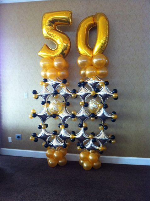 32 Best Images About Anniversary Balloon Decor On