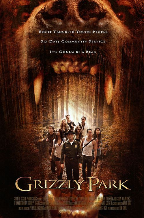 Grizzly Park , starring Glenn Morshower, Randy Wayne, Zulay Henao, Emily Baldoni. Eight young adults are sent to do community service at Grizzly Park. There, they are hunted by an escaped serial killer along with the animals of the forest. #Comedy #Horror