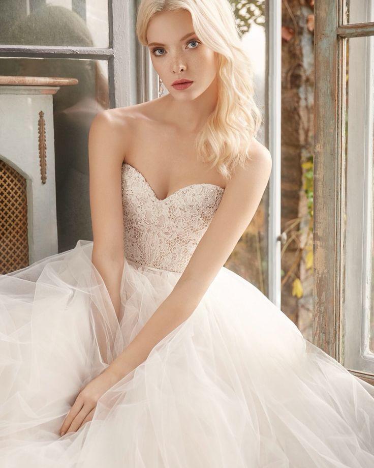 9 best Alvina Valenta images on Pinterest | Short wedding gowns ...
