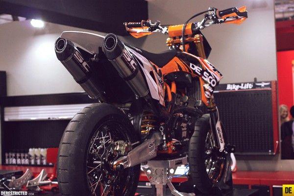 KTM Supermoto @ EICMA | DERESTRICTED