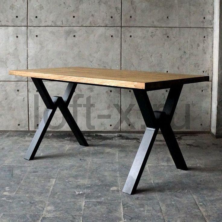 момента фото стола из металла и дерева устанавливается шпунтованная