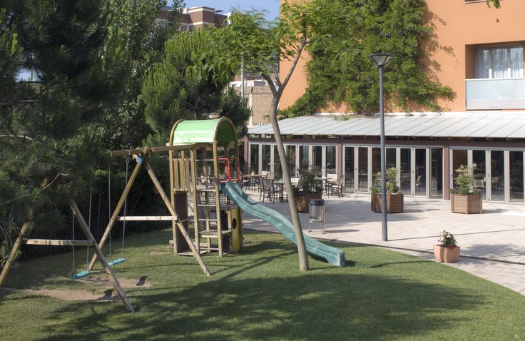 abba Garden Hotel**** - Hotel in Barcelona - Playgound for kinds in the garden