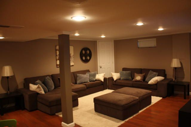 Basement Lighting Recessed Ceiling: 33 Best Images About Basements On Pinterest