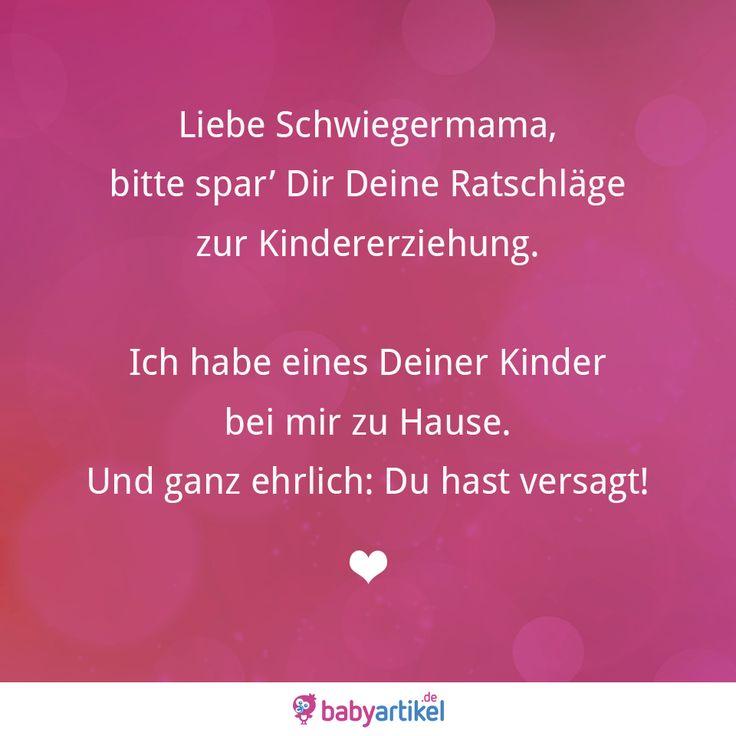#schwiegermama #spruch #baby #namen #sprüche #visualstatement #mama