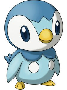 This thing right here, it's called a Piplup. And it's the cutest Pokemon ever.