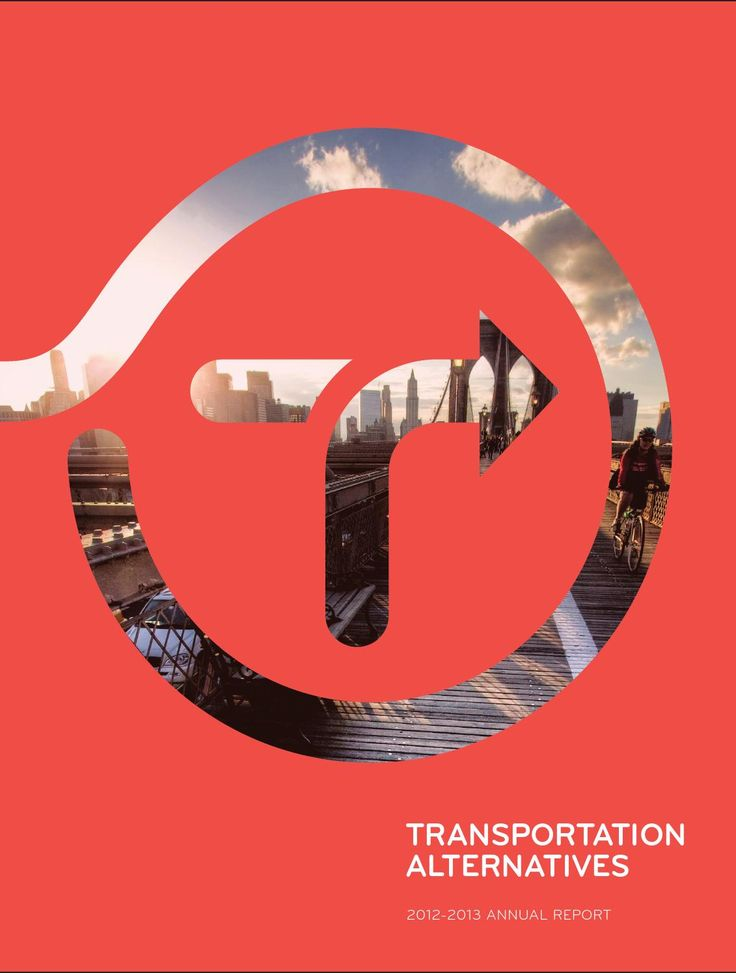 Font&L/O ref Transportation Alternatives' 40th Anniversary Annual Report