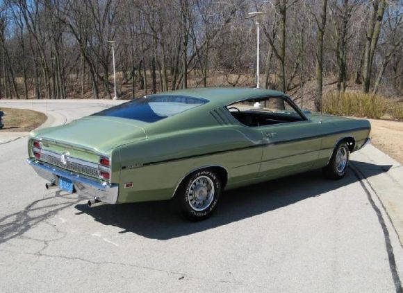 K Mile  Ford Torino Gt  Cj Fastback Dream Garage Pinterest Ford Ford Torino And Cars