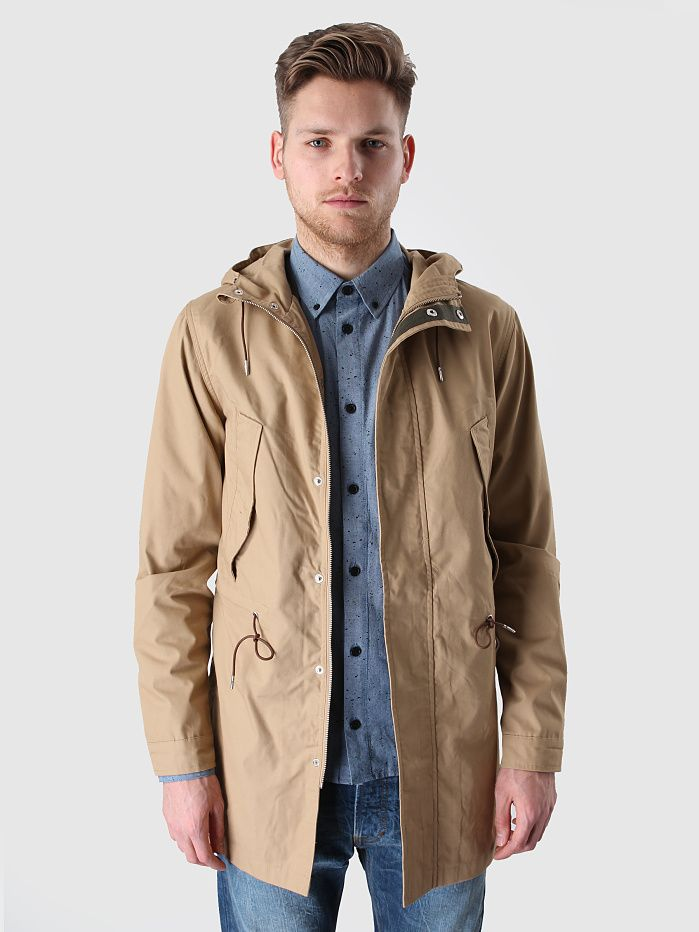 Revolution - Fishtail Parka Khaki 7282 | FreshCotton.com | QB ...