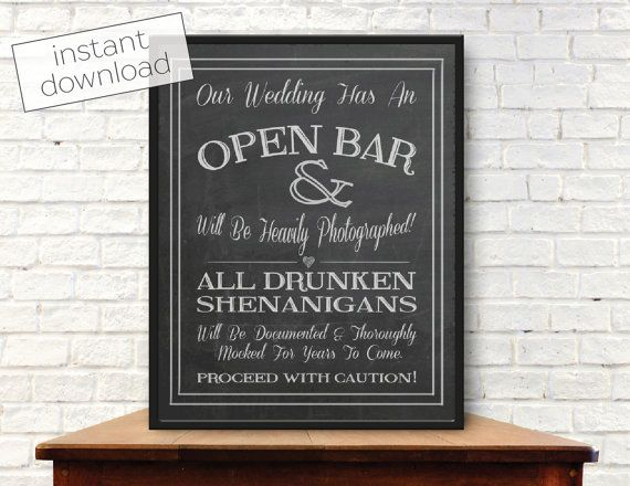 Wedding Bar Sign Chalkboard, Wedding signs DIY, open bar, elegant, for reception, printable, for seating, unplugged, rustic, unique, cute, thank you, hashtag, guestbook, Wedding signs in memory, welcome, ceremony, quotes, song of solomon, Wedding signs bible verse, modern,Wedding signs instagram, Wedding signs reserved, Wedding signs gifts, winter, Wedding signs bathroom, Wedding signs menu, Wedding signs dessert table, romantic, favors, ideas