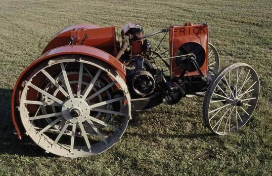 Frick C 15-28  The Wayneboro, Pennsylvania-based Frick Company began business in 1853 building steam engines and grain threshers. The model 15-28 and its little brother, the model 12-20, weren't introduced until 1921 and were the only tractors Frick manufactured.