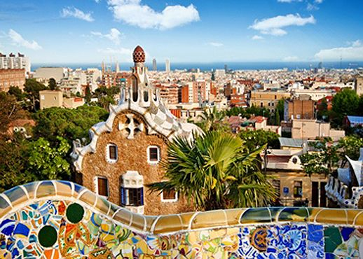Barcelona!!!! a must visit esp for you L.A. lovers