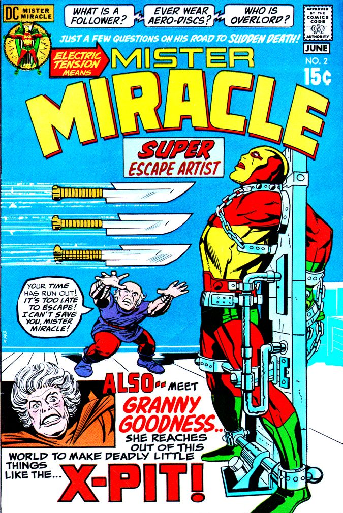 Mister Miracle #2 | 365 Days of Jack Kirby's Fourth World