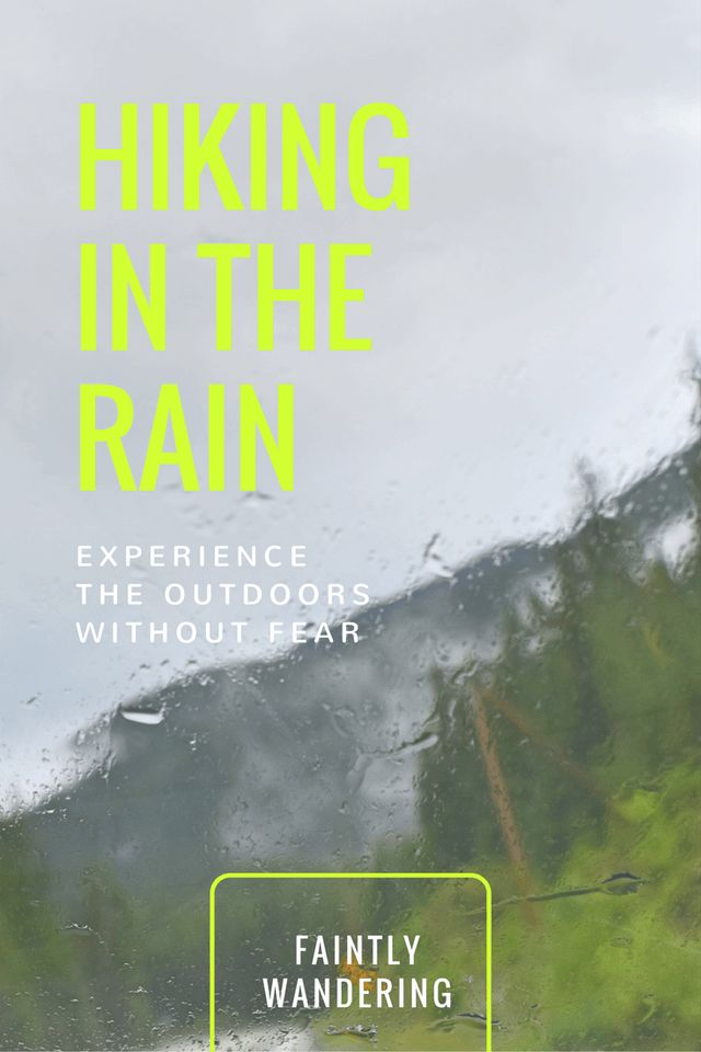 Learn how to survive (and even enjoy!) hiking in the rain in the Pacific Northwest