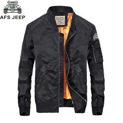 Afs Jeep Jacket Men Mens Spring Jacket Casual Baseball Clothes Slim Fit Mens Bomber Jackets S-3XL Coat Male