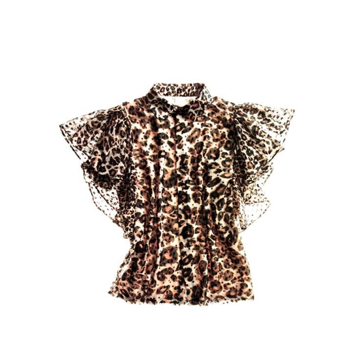 Giambattista Valli in leopard print shirt