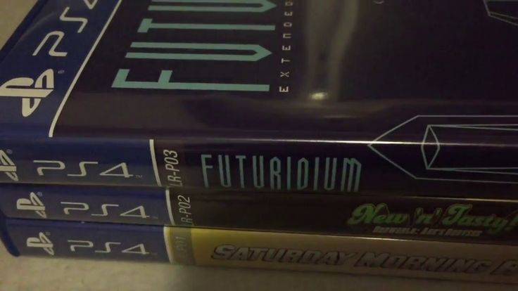 LIMITED RUN GAMES PS4 PHYSICAL RARE RELEASES COLLECTION: SATURDAY MORNING RPG, ODDWORLD, FUTURIDIUM