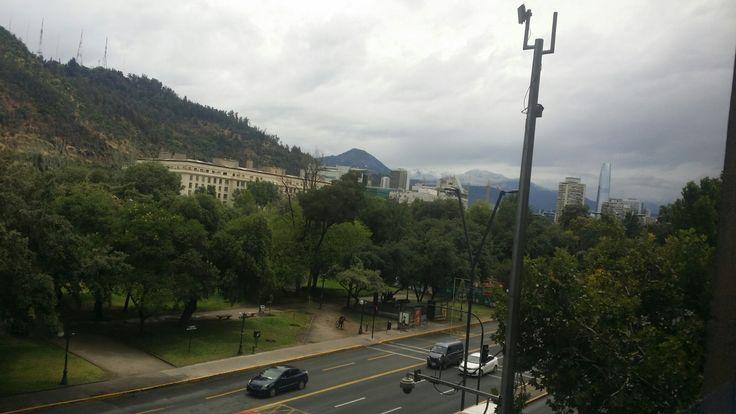 Santiago después de la lluvia