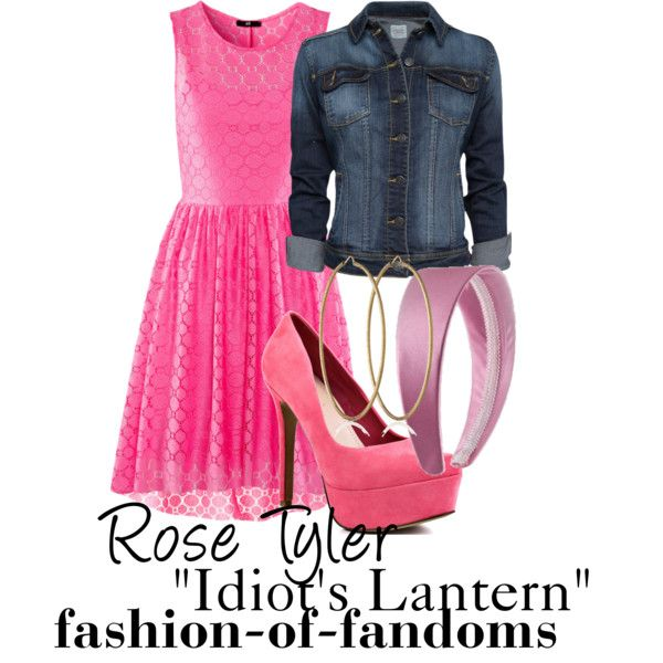 """Rose Tyler"" by waveyourwands97 on Polyvore"