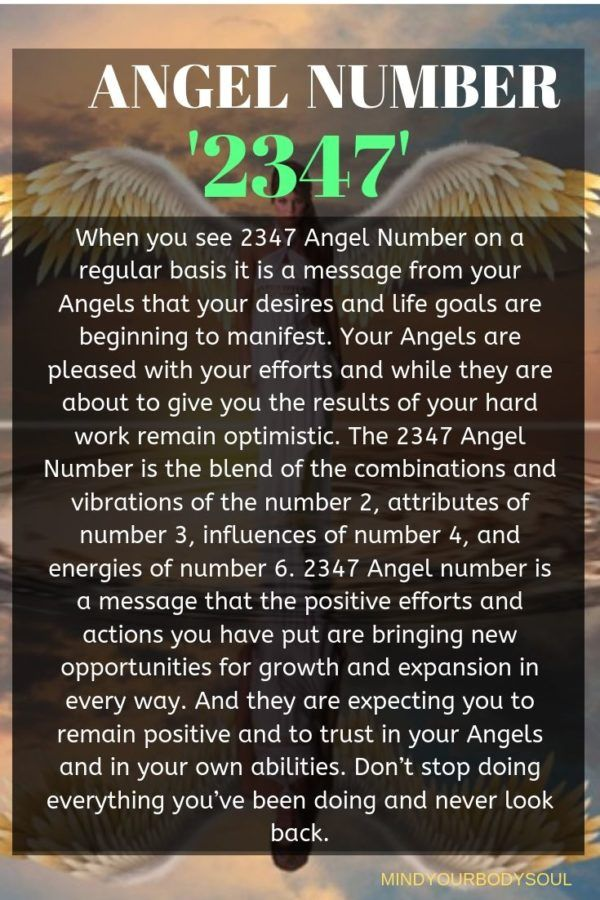 2347 Angel Number And It S Meaning Angel Number Meanings Number