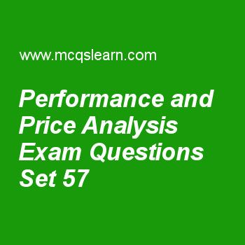 Practice test on performance and price analysis, computer architecture quiz 57 online. Practice computer architecture and organization exam's questions and answers to learn performance and price analysis test with answers. Practice online quiz to test knowledge on performance and price analysis, instruction level parallelism, memory addresses, computer types, performance measurement worksheets. Free performance and price analysis test has multiple choice questions as benchmarks remain...
