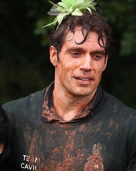 We've found our absolute favourite photo of Henry Cavill from the #commandochallenge . Congratulations on a great run and wonderful fundraiser! #henrycavill #commandochallenge #RMcharity #superman