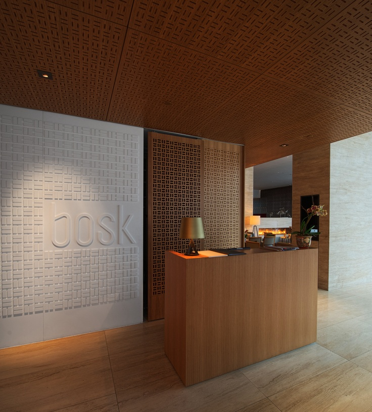 office of mcfarlane biggar architects + designers, Toronto, Shangri-La Hotel Lobby + bosk Restaurant