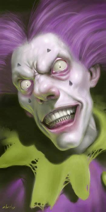 Pretty Zombie Clown